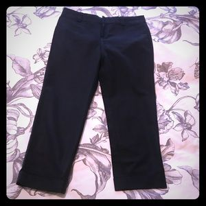 Black Capris by Banana Republic with Stretch